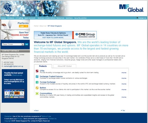 Mf global forex